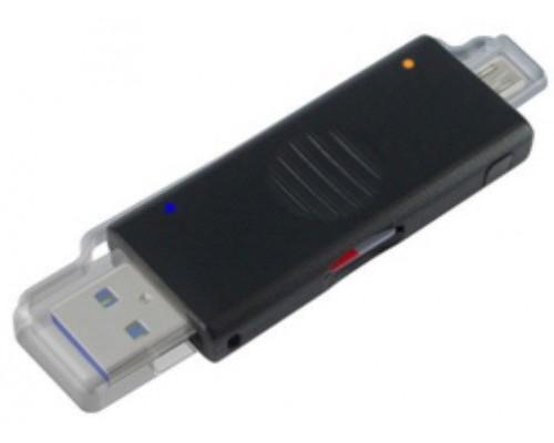 Устройство чтения карт памяти microSD Speed Dragon OTG/USB2.0 внешн., черный