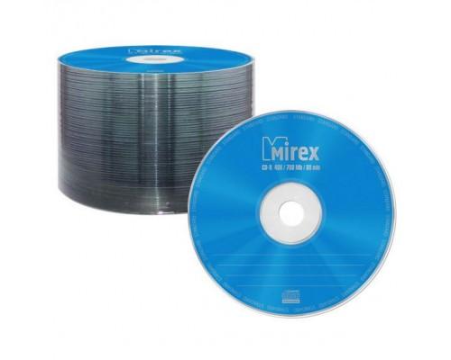 Диск CD-R 700Мб MIREX 48x blank (100шт/уп)