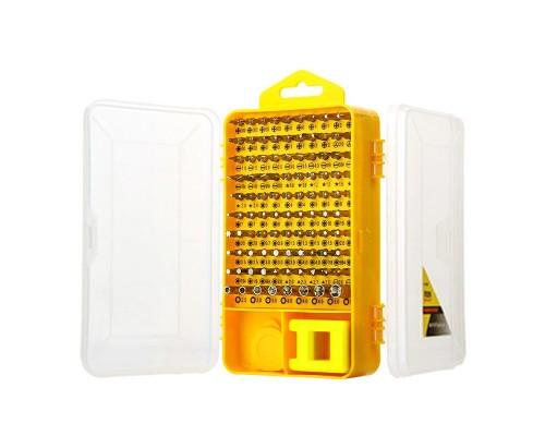 Набор инструментов XHT090 (отвертка-держатель, гибкая насадка, магнетизер, 80 насадок, два пластиковых рычага и медиатор, вакуумная присоска, пинцет, инструмент для изъятия SIM-карты)