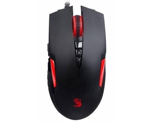 Мышь A4Tech Bloody V2M игровая оптическая 3200dpi 5 кнопок USB черно-красный