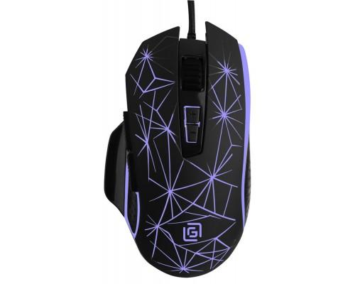 Мышь Oklick 935G Starfall игровая оптическая 3200dpi 8 кнопок 7цв. подсветка USB черный
