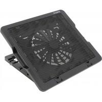 Кулер для ноутбука Zalman ZM-NS1000 (Охлаждающая панель для ноутбука, Al, 300x267x54, 1 вентилятор 1200-1600rpm, 19-25 дБ, черная)