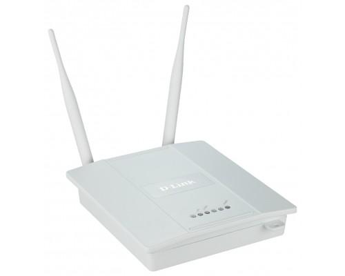 Точка доступа Wi-Fi D-Link DAP-2360 300 Мбит/с 802.11b/g/n, PoE, две внешние антенны