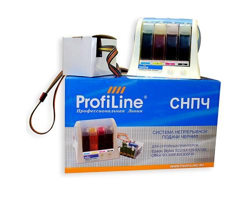 Система непрерывной подачи чернил для Epson S22/SX125/SX420/BX305FW (T1281-T1284), заправленные ProfiLine