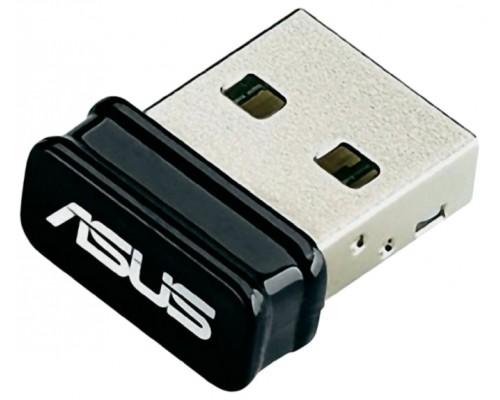 Адаптер Wi-Fi 802.11n Asus USB-N10 Nano 150Мбит/с, USB, nano size