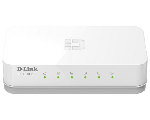 Коммутатор D-Link DES-1005C/A1A 5x 100Мбит/с
