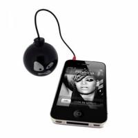 Актив. акуст. система Satzuma Бомба, Портативный динамик бомба для MP3,MP4 и моб. телефонов. Разъем 3,5 мм. Li аккумулятор.