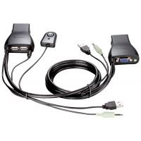 Переключатель KVM D-Link KVM-221 мон/клав/мышь USB на 2ПК