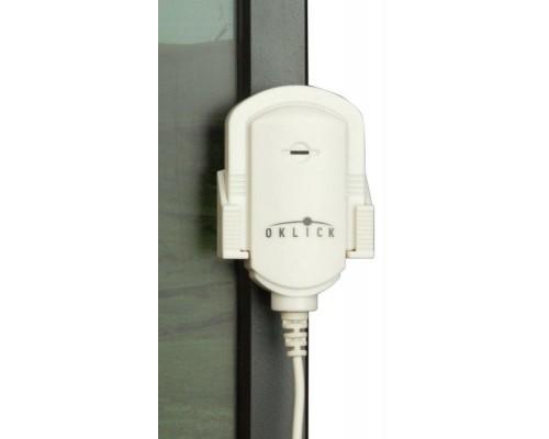 Микрофон Oklick MP-M007 клипса длина кабеля 1,8м белый