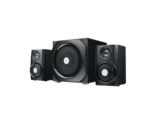 Актив. акуст. система 2.1 Microlab TMN-9U сабвуфер 16Вт, сателлиты 2x12Вт, дерев. корпус SW, USB, SD, AUX, черный