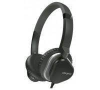 Гарнитура Creative MA2400, накладные, регулируемое оголовье, длина кабеля 1,2м, черный