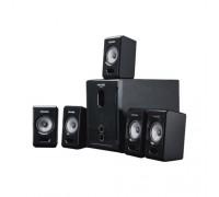 Актив. акуст. система 5.1 Microlab M500/5.1 сабвуфер 25Вт, сателлиты 5x7,5Вт, пульт ДУ, черный