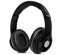 Гарнитура Sven AP-B480MV накладные беспроводные Bluetooth 2.1 FM радио MP3 плеер microSD до 16Gb черный