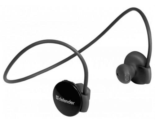 Гарнитура Defender FreeMotion B611, беспроводная Bluetooth 3.0, с регулятором громкости, затылочное оголовье, черный