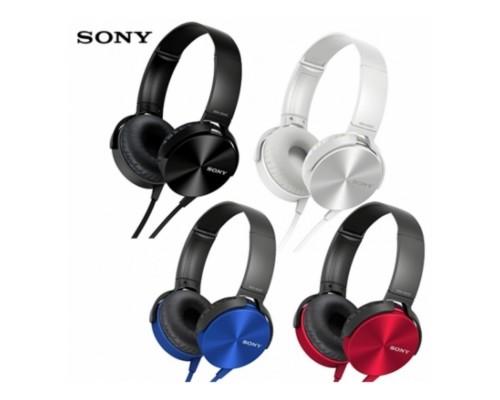 Гарнитура Sony MDR-XB450AP накладные оголовье jack 3,5mm (rpl)
