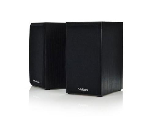 Актив. акуст. система Velton VLT-SP103Bl, 2x5вт, МДФ, черный