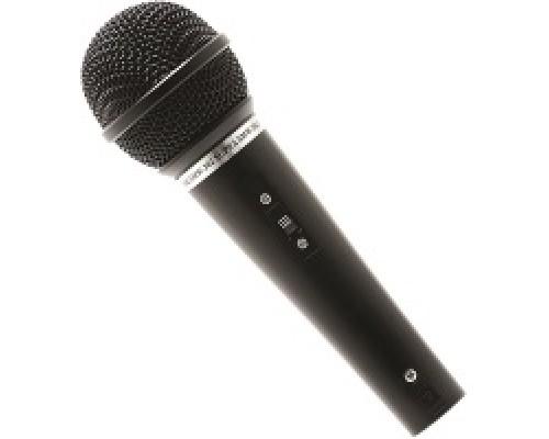 Микрофон Supra SMW-202, 72 дБ, 90 - 13000 Гц, кабель 3м, jack 6.25 мм, черный