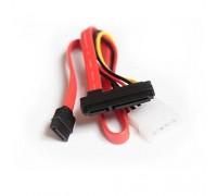 Кабель-переходник Gembird CC-SATA-C3 Slimline SATA данные+питание 7+6pin/7+4pin (0.3м), для подключения ноутбучных CD/DVD/BD приводов