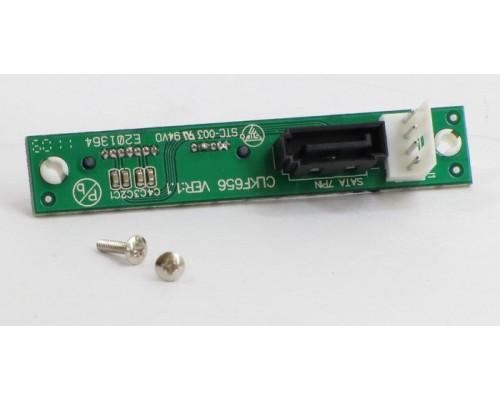 Адаптер Slim SATA Chenbro, со стандартного SATA на miniSATA для slim HTPC (66H243131-001)