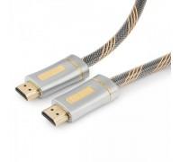 Кабель HDMI Cablexpert CC-P-HDMI02-1M Platinum v2.0 19М/19М 1м