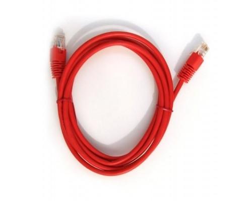 Кабель Patch Cord UTP Cat 5e 3м Gembird PP12-3M, литой, красный
