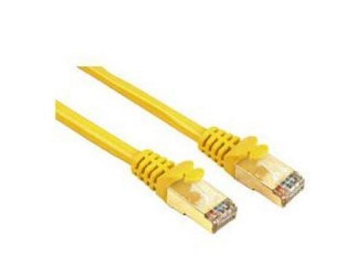 Кабель Patch Cord UTP Cat 5e 1,5м 26AWG Krauler KRP-U-5e-015-YL, желтый