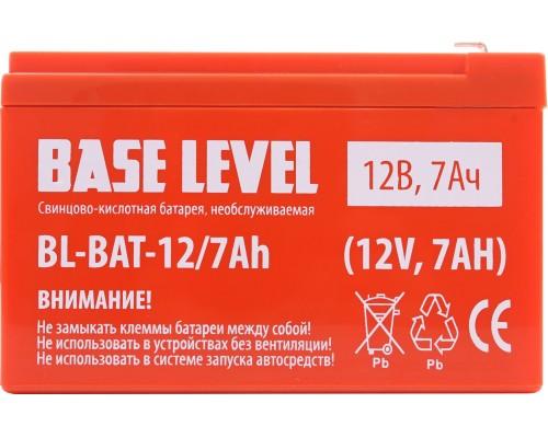 Аккумуляторная батарея для ИБП BaseLevel BL-BAT-12/7Ah, 12V, 7A·h