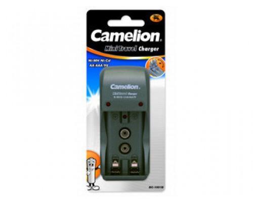 Зарядное устройство Camelion BC-1001A 2хAA/2хAAA/9V, 200mA, складная вилка