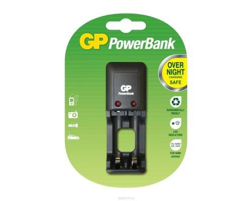 Зарядное устройство GP PowerBank S330 PB330GSC (2*AA/2*AAA) мини