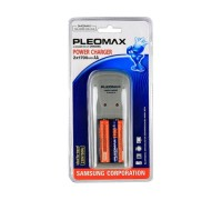 Зарядное устройство Samsung 1018, Power Charger,  AA/AAA +2 Аккумулятора АА 1700 мА/ч