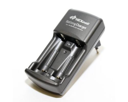 Зарядное устройство NEXcell SC-210, 2xAA/AAA Ni-MH + 2 аккум. 900 мАч Ni-MH AAA