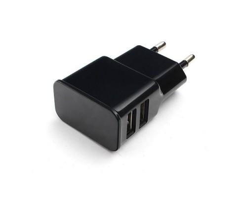 Адаптер питания 220V -> 5V 2100mA Cablexpert MP3A-PC-12 черный (2xUSB A)