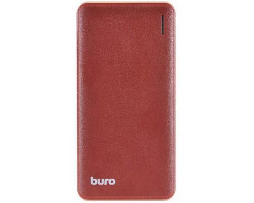 Аккумулятор Buro T4-10000 Power Bank универсальный, для портативных устройств, 10000mAh, Li-Polimer, 2xUSB, коричневый