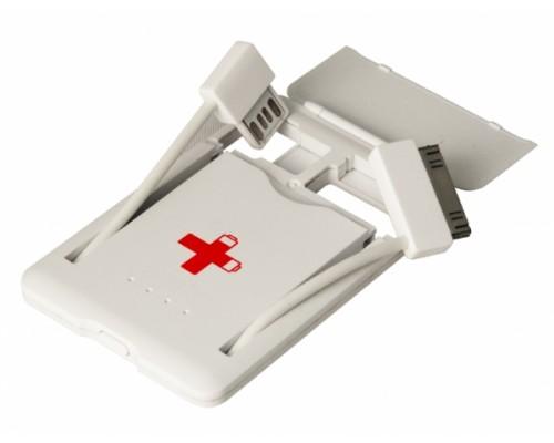 Аккумулятор iconBIT Funktech FTB600i, LiION 600 mAh, cверхпортативное зарядное устройство размером с кредитную карту, зарядка всех iPhone и iPod всех поколений