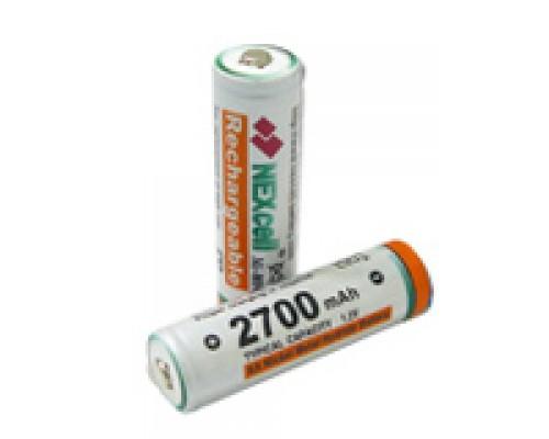 Аккумулятор AA NEXcell 2700 мАч Ni-MH 10шт./уп. (1шт)
