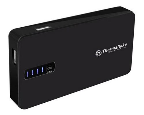Аккумулятор Thermaltake MB8400S001 универсальный для портативных устройств 8400mAh 2xUSB черный