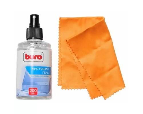 Набор чистящих средств Buro BU-Gscreen (салфетка и гель) для экранов и оптики 200мл