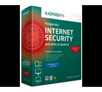 Антивирусная программа: Kaspersky Internet Security на 2 устройства на 12мес./ BOX