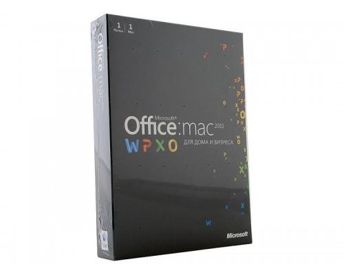Право использования программного продукта: Microsoft Office 2011 Mac BOX Home and Business Rus W6F-00036
