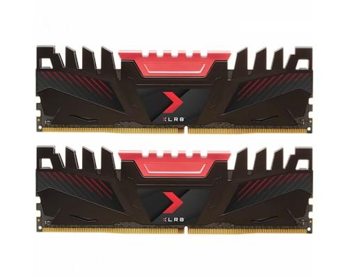 Модуль памяти DDR4  PNY 2x8Gb 3200MHz CL16 DIMM 1,35v XLR8 Gaming Memory MD16GK2D4320016AXR RTL
