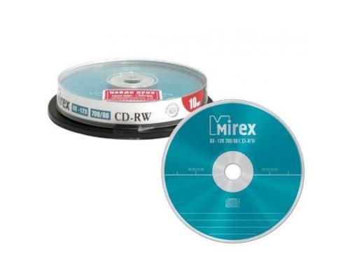 Диск CD-RW 700Мб Mirex 4x-12x (10шт/уп) 1 диск