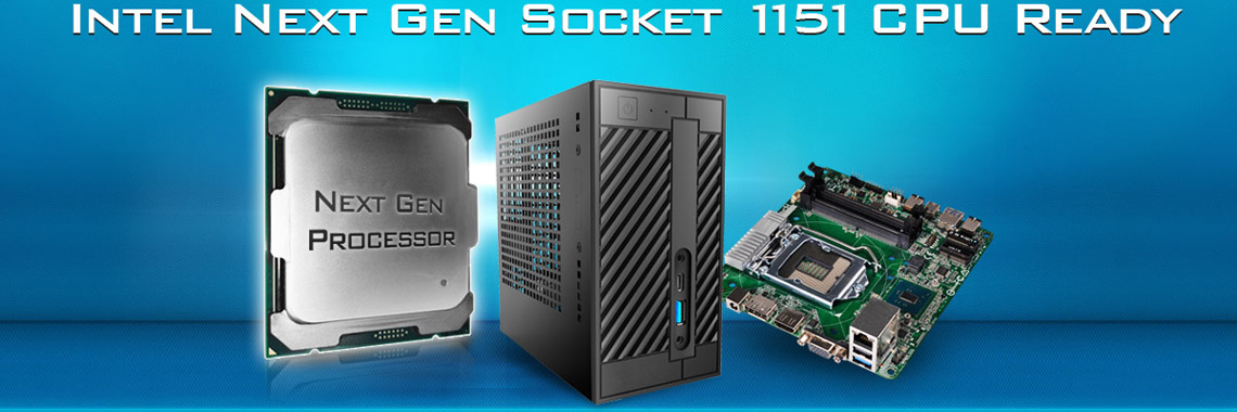 Неттоп ASRock DESKMINI 110 на линейке процессоров Intel