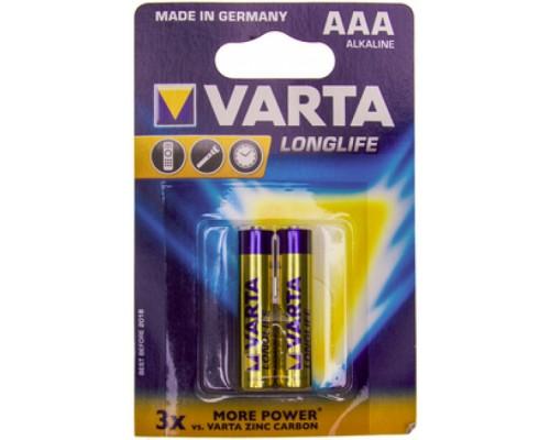 Элемент питания  AAA Varta LLE 4103.101.412 LR03 B2