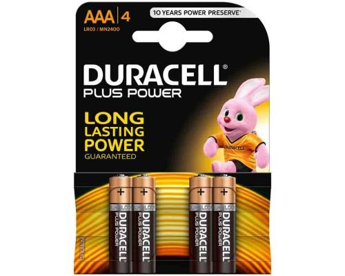 Элемент питания  AAA Duracell Basic MN 2400/LR03 B4/B8 (1 шт.)