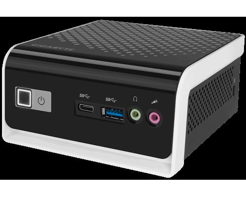 Неттоп Gigabyte BRIX GB-BLCE-4000C Intel Celeron N4000 2.6GHz 2 core DDR4-2400 4Gb up 8Gb, SSD 120GB SATAIII Intel HD Graphics 600, 1xHDMI, 1xD-Sub, 4xUSB3.0, 802.11ac Wi-Fi, BT4.0, 1GLan, черный