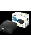 Неттоп Gigabyte BRIX GB-BLPD-5005R Intel Pentium J5005 2.8GHz 4 core DDR4-2400 8Gb, SSD 240GB SATAIII Intel HD Graphics 605, 2xHDMI, 4xUSB3.0, 802.11ac Wi-Fi, BT4.0, 1GLan, черный