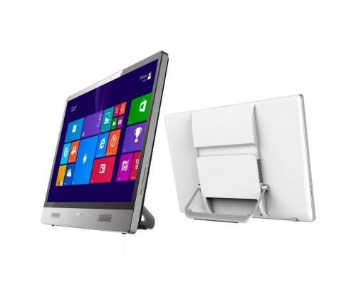 "Моноблок Wibtek X22S N2940 L6 21,5"" 1920 x 1080 Intel Celeron 2940 DDR3-1600 4GB SSD 120Gb SATAIII GLan 2xUSB2.0 1xUSB3.0 HDMI Webcam 2.0M WiFi серебристый/белый"