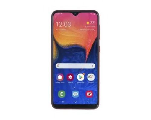 Смартфон Samsung SM-A105F Galaxy A10 32Gb 2Gb чёрный моноблок 3G 4G 2Sim 6.2