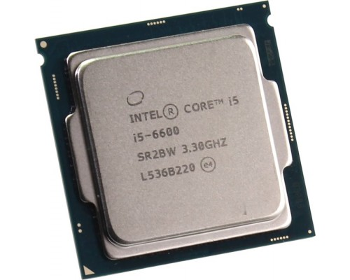 Процессор Intel Core i5-6600 3,30GHz (3,90GHz) 4core L3-6Mb 2xDDR3-1600/DDR4-2133 HD Graphics 530 TDP-65W LGA1151 OEM