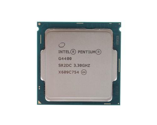 Процессор Intel Pentium G4400 3,3GHz 2core L3-3Mb 2xDDR3-1600/DDR4-2133 HD Graphics 510 TDP-54W LGA1151 BOX